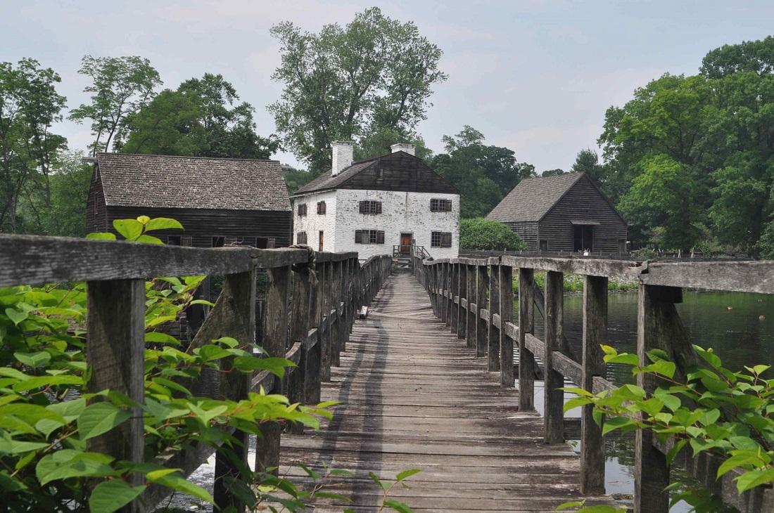bucolic farm house